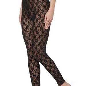 Jessica Simpson GETZ black lace leggings, Size M